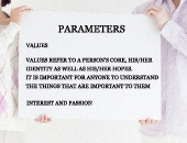 Parameters for Career