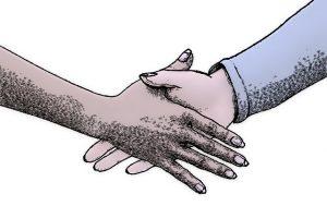 open handshake