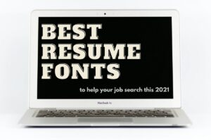 best resume fonts 2021